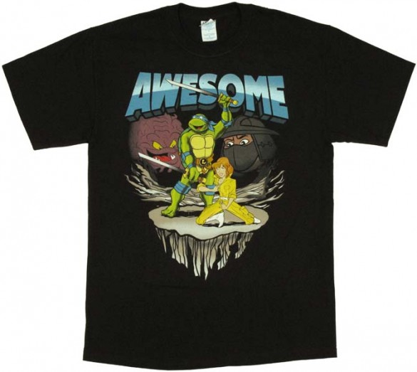Teenage Mutant Ninja Turtles Awesome T-Shirt Design