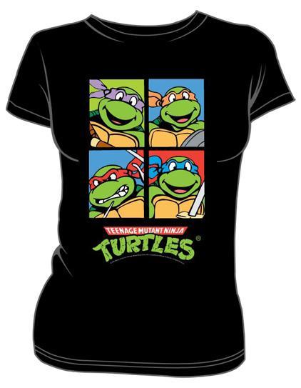 Teenage Mutant Ninja Turtles, Girls T-Shirt Design