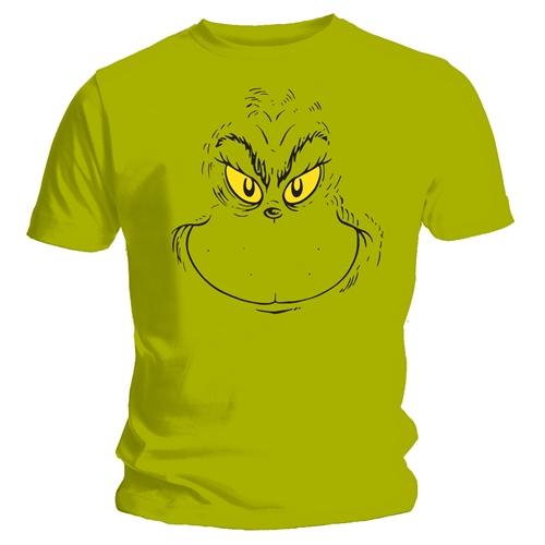 The Grinch T-shirt Design Green