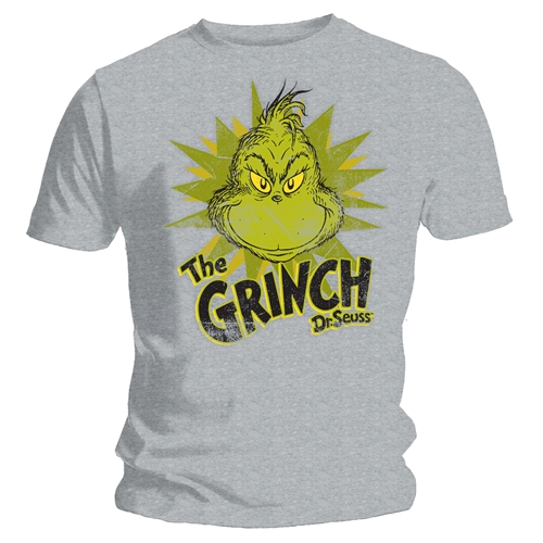 The Grinch T-shirt Design Silver