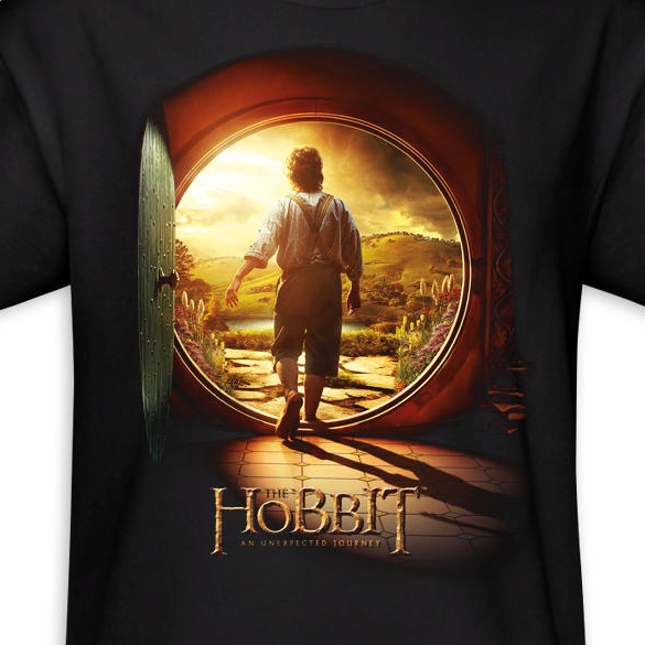 The Hobbit An Unexpected Journey Adult T-Shirt