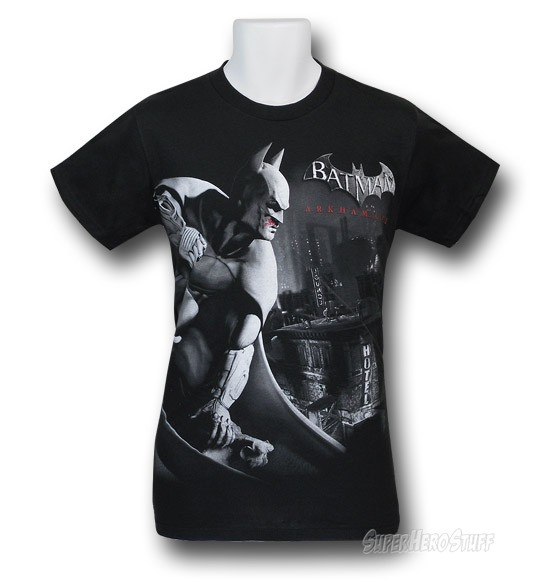 Vengeance Over City - Batman Arkham City T-shirt custom design