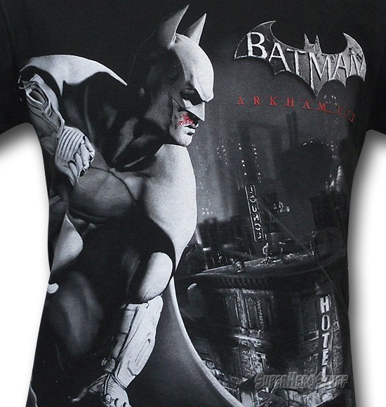 Vengeance Over City - Batman Arkham City T-shirt design