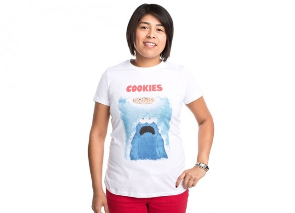 WE'RE GONNA NEED A BIGGER COOKIE T-shirt Design by Phil Ryan