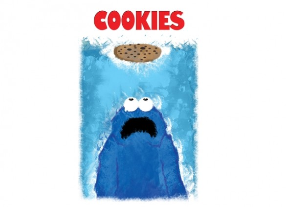 WE'RE GONNA NEED A BIGGER COOKIE Tee Design by Phil Ryan