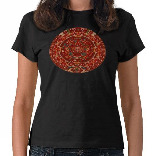 aztec calendar 2012 custom t-shirt design