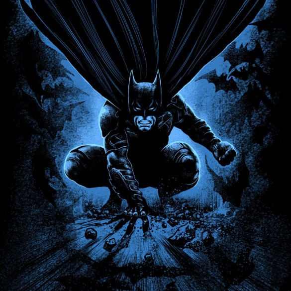 batman come from dark shirt custom design
