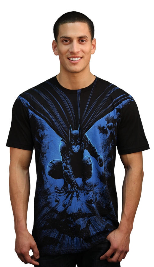 batman come from dark shirt mens custom design
