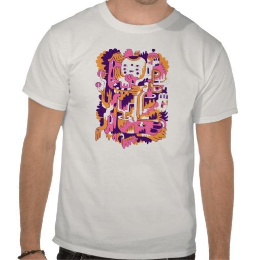 custom t-shirt design by Wilmer Murillo