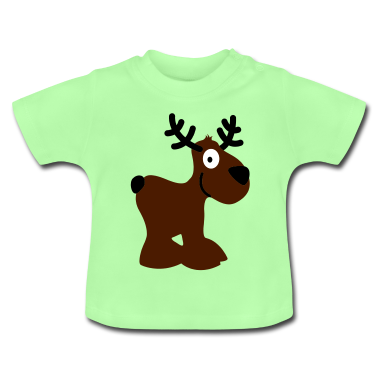 cute moose caribou reindeer deer christma