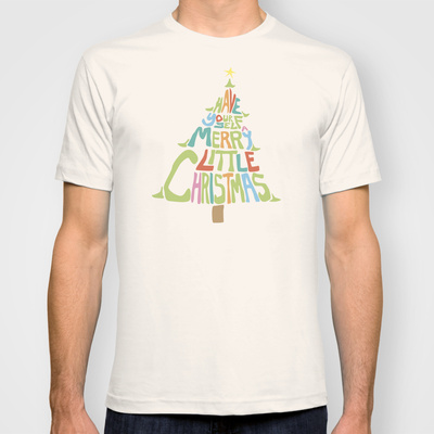 happy christmas custom t-shirt design