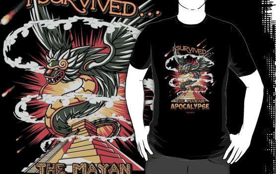 mayan apocalypse custom t-shirt design