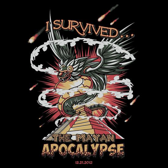 mayan apocalypse custom tee design