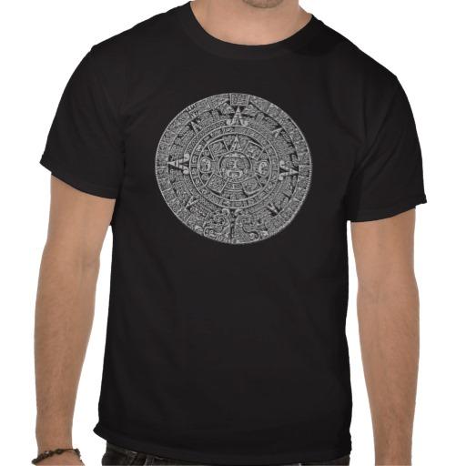 mayan calendar custom t-shirt design
