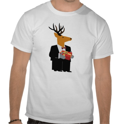 reindeer custom t-shirt design