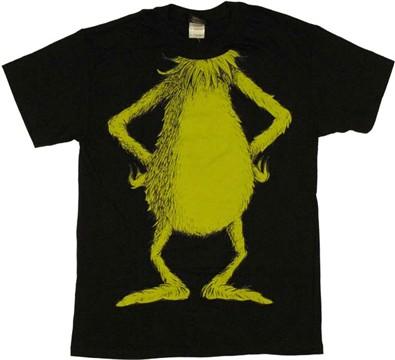 t-shirt dr seuss grinch body Design