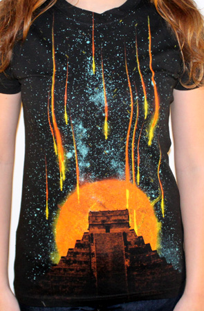 the end custom t-shirt design