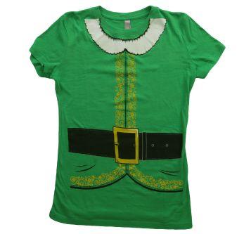womens elf tshirt front t-shirt design