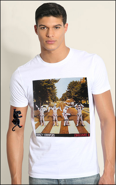 ABBEY ROAD STORM TROOPERS Custom T-shirt Design