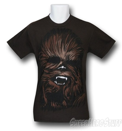 Chewbacca Face Custom T-shirt Design