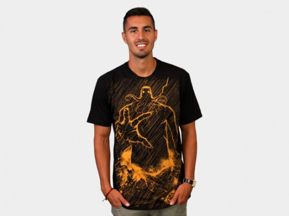 Cthulhu Rises Custom T-shirt Design Girl Boy