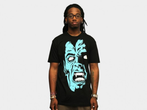 Fear Custom T-shirt Design Front Boy