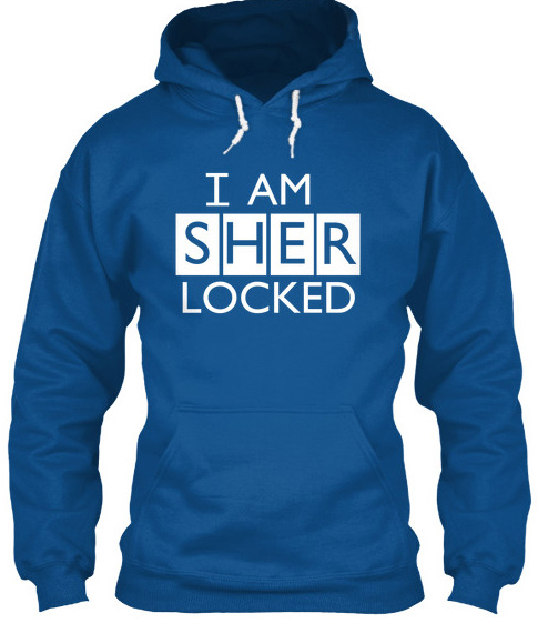 I am Sherlocked custom hoodie design