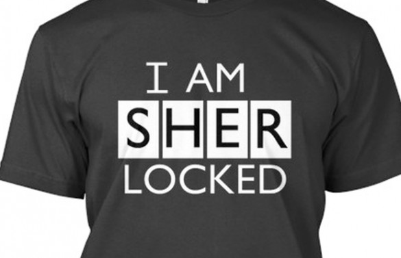 I am Sherlocked custom tee design main image
