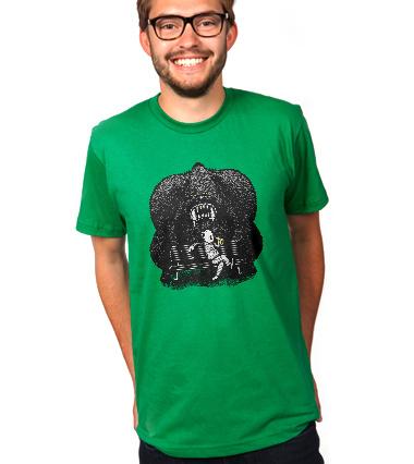 I smell banana... - custom t-shirt design boy