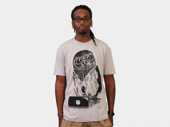 Limited Edition - Smart Owl T-shirt Design Boy