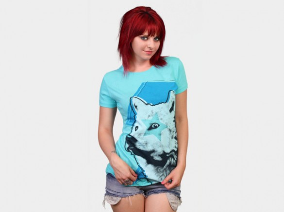 Limited Edition - Star Wolf Custom T-shirt Design girl