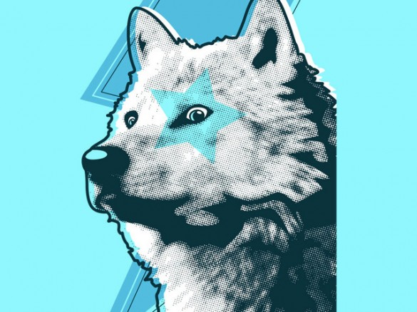 Limited Edition - Star Wolf Custom Tee Design