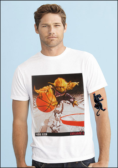 MASTER YODA SLAM DUNK Custom T-shirt Design