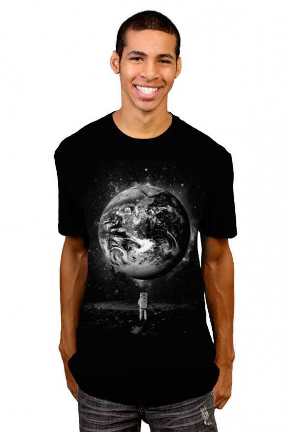 Man-on-the-Moon-Custom-Tee-T-shirt-Design