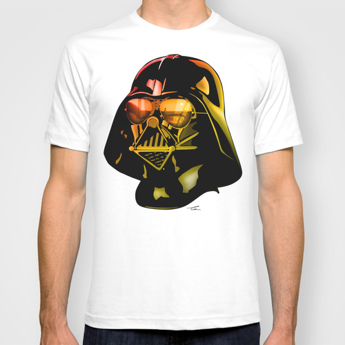 STAR WARS Darth Vader by Tom Brodie-Browne T-shirt Design