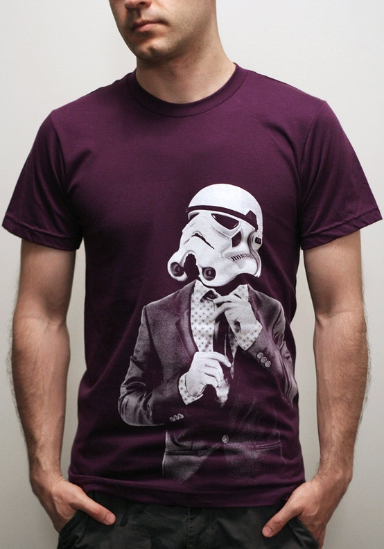 Smart Trooper Custom T-shirt Design