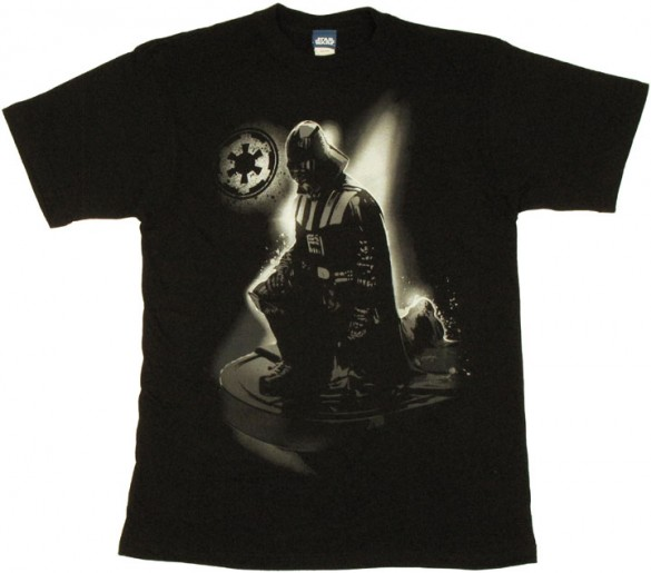 Star Wars Vader Kneel Custom Tee Design