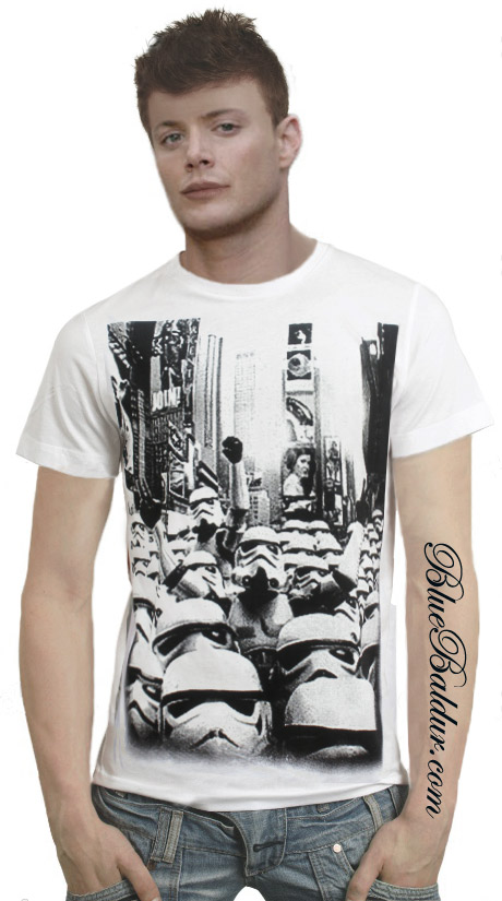Stormtrooper Riot Custom T-shirt Design