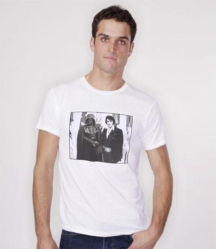 Elvis Meets Vader T-shirt Design Boy