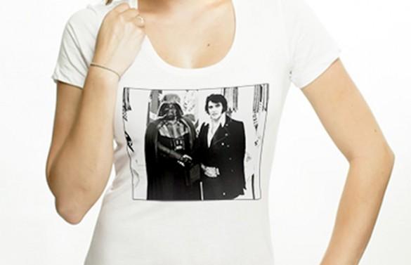 Elvis Meets Vader T-shirt Design Girl 1