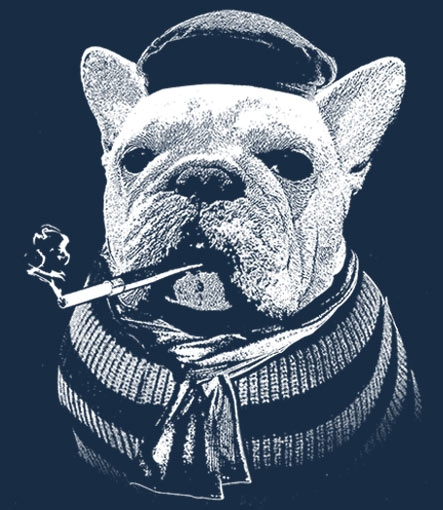 French Bulldog Custom Tee Design