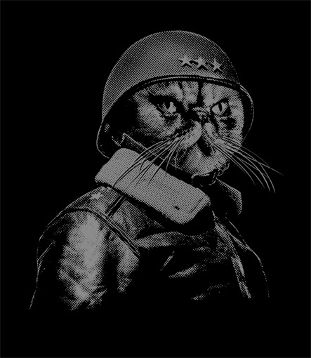 General Catton t-shirt design