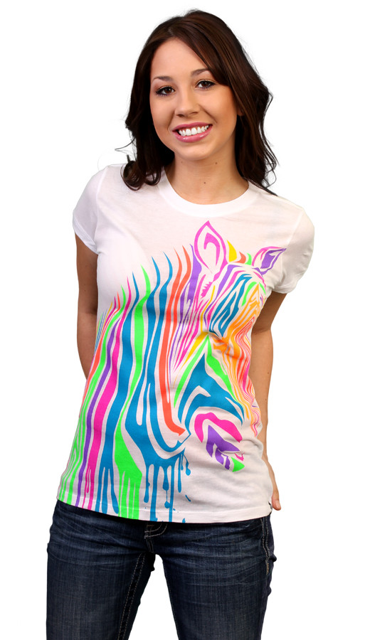 Limited Edition - ZebrART Custom T-shirt Design Girl 2