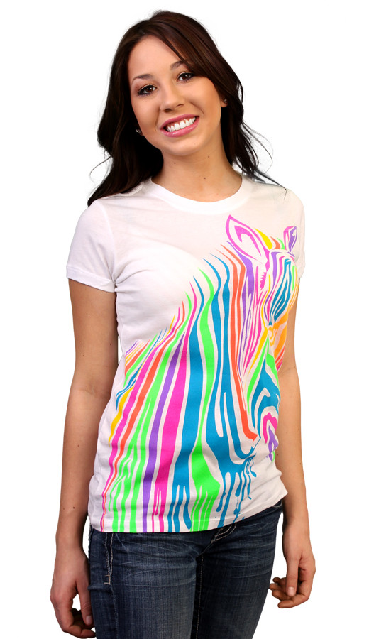 Limited Edition - ZebrART Custom T-shirt Design Girl