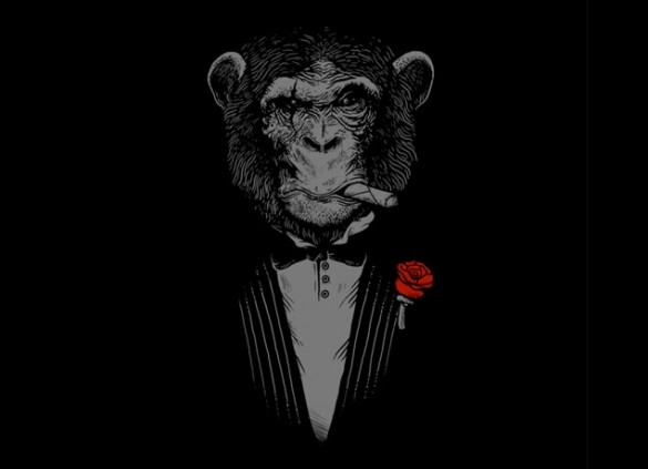 MONKEY BUSINESSDesign by Alex Solis T-shirt design