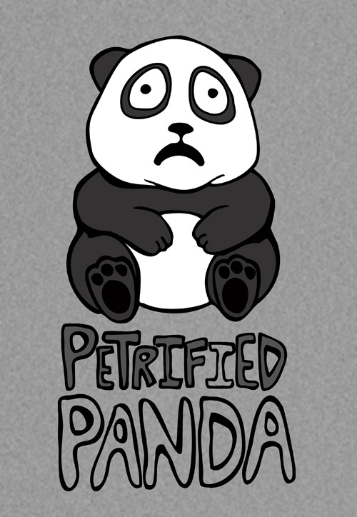 Petrified Panda (Women) Custom Tee Design