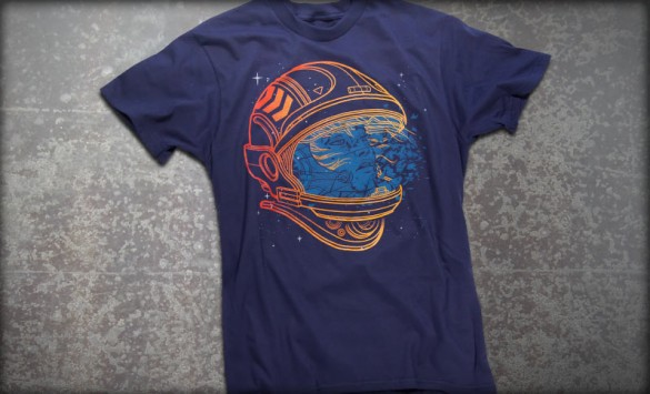Shatter Space Custom Tee Design