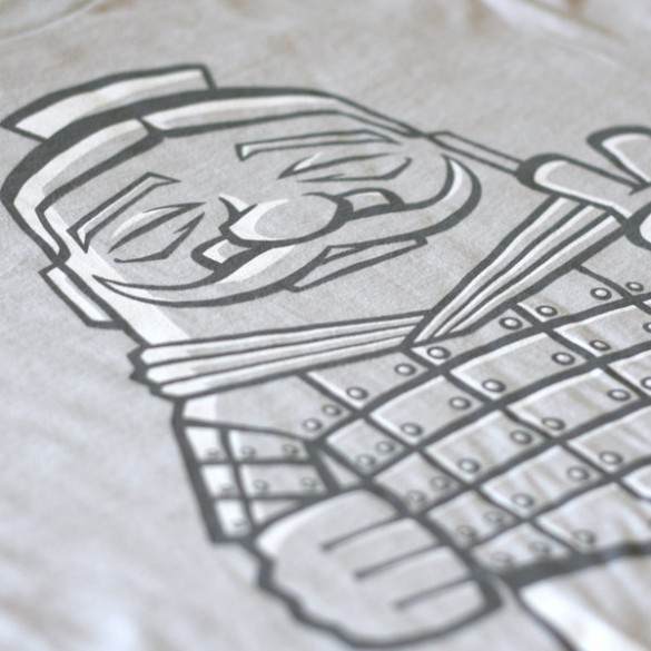 Terracotta Soldier Tee Design