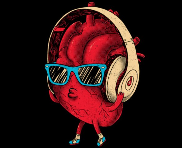 Daily Tee heartBEAT t-shirt design by Dzeri29