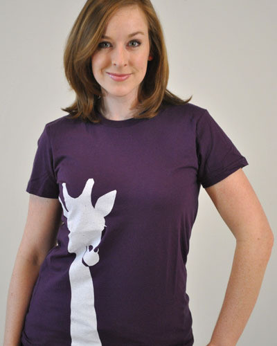 GIRAFFE  WMN Custom t-shirt design